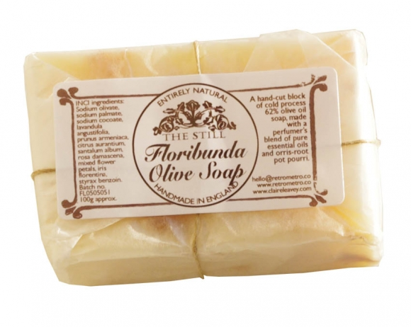 Handmade olive soaps
